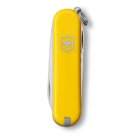 swiss army knife classic sd victorinox classic sd yellow
