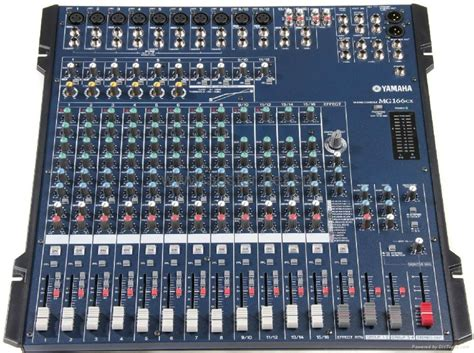 Harga Mixer Yamaha 32 Channel yamaha mg166cx 16 channel mixer with compression and