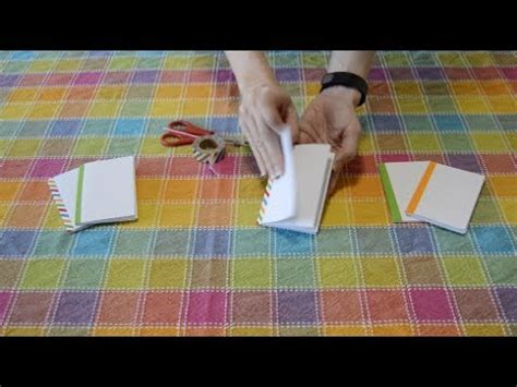 Novel Hq Simple how to make a mini sketch book from a sheet of paper easy