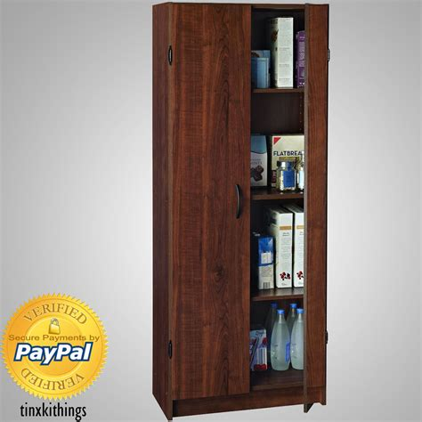 tall kitchen utility cabinets wooden tall pantry cabinet storage organizer kitchen bath