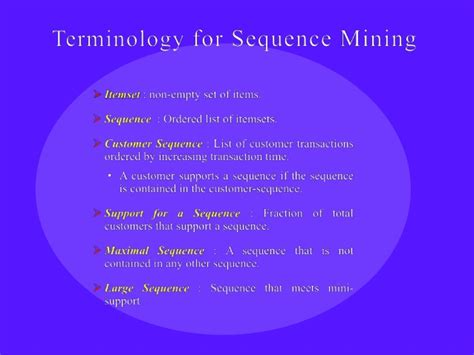 sequential pattern mining en francais sequential pattern mining