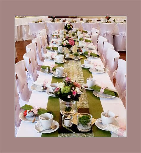 Dekoration Tisch Hochzeit tischdeko