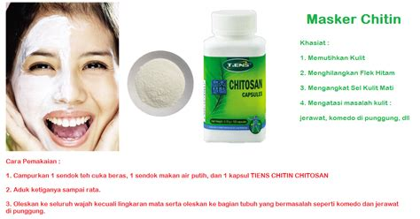 Pemutih Cordyceps obat herbal distributor malang masker chitin chitosan