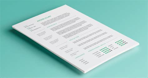 simple resume template psd 10 best free resume cv templates in ai indesign psd