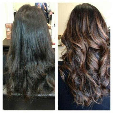 change hair color online for more convenience tips ideas advices ideas for changes look before and after 13 dark brown
