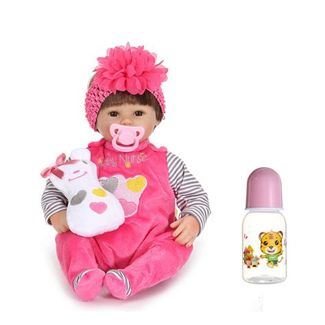 reborn doll house 17inch reborn baby girl doll silicone handmade lifelike baby play house toy alex nld