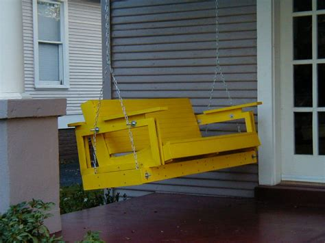 yellow porch swing canary yellow porch swing michael grogan architect