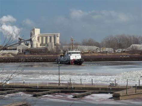 boat basin huron oh huron oh boat breaking ice so ships can come to the