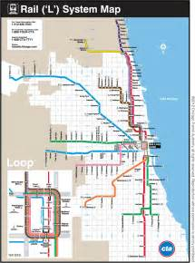 Chicago El Map Blue Line by The Official Acm Chicago Program Blog Celebrating Chicago
