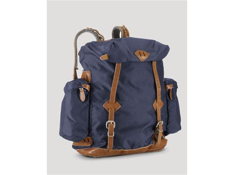 Backpack Polo Zupiter ralph polo yosemite canvas backpack in blue for