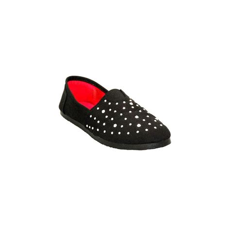 24 units of wholesale womens canvas slip on shoes at