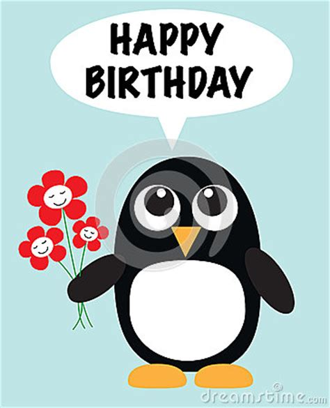 Penguin Birthday Meme - happy birthday cute penguin