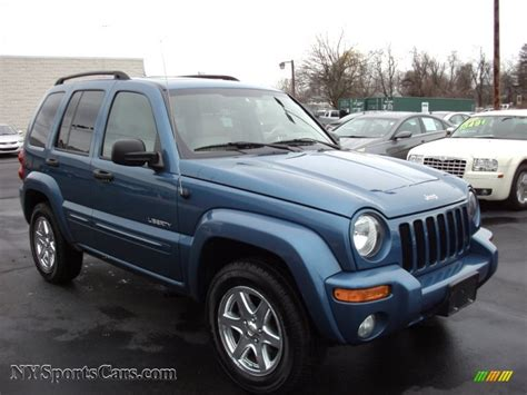 jeep liberty limited 2004 light blue jeep liberty www pixshark com images