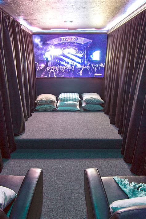 Home Theater E Lco eclectic home tour sue design