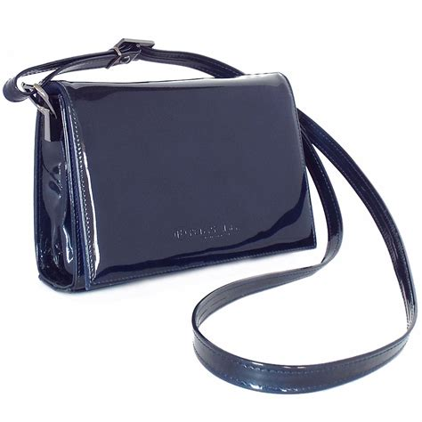 Small Patent Bay Shoulder Bag by Kaiser Arba S Small Evening Shoulder Bag In