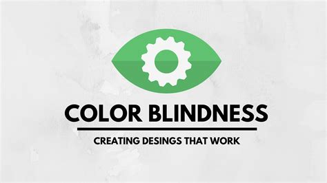 term for color blindness color blindness do your designs work for color blind users