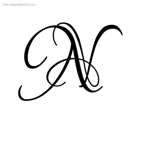 fancy cursive letters fancy cursive letter n kc garza 1214