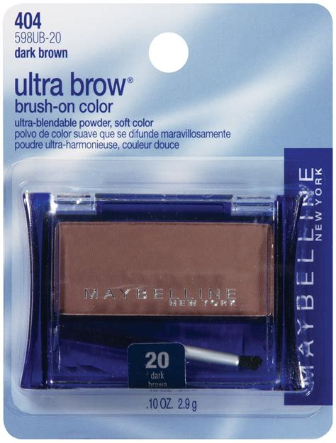 Maybelline Eyebrow Powder maybelline ultra brow brown brush on powder eyebrow