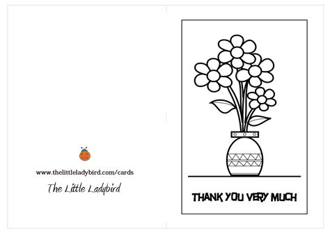 thank you card template pages free thank you card coloring page designs on thank you
