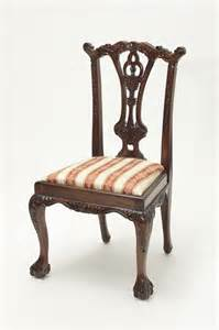 chippendale dining chairs antique reproduction
