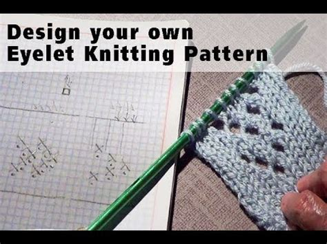 knitting make one how to design your own knitting pattern