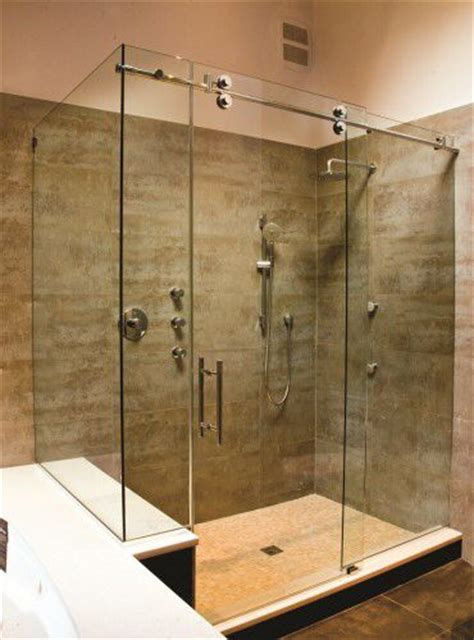 How Much Is A Frameless Shower Door Frameless Rolling Glass Shower Ideas For House Plans Pinterest Glasses Showers And Glass