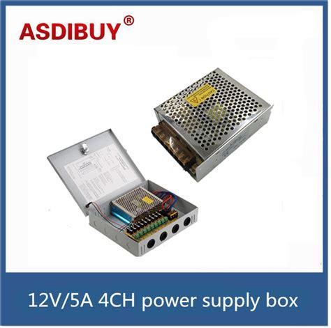 Power Suply 12v 5a Box buy wholesale cctv distributor from china cctv distributor wholesalers