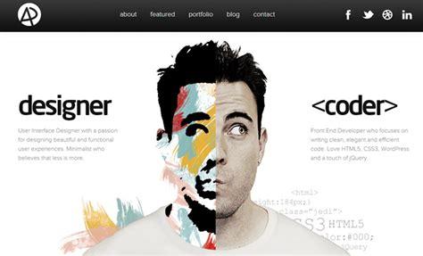design inspiration web portfolio 34 inspiring responsive web design portfolio layouts