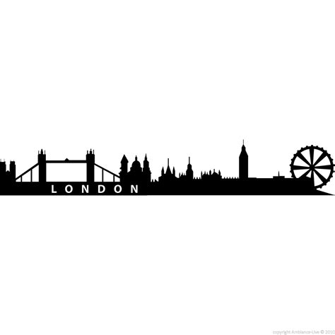 Glow In The Wallsticker City city wall decals wall decal skyline 2 ambiance