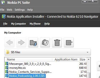 Casing Nokia E66 M E nokia podcasting application review the gadgeteer