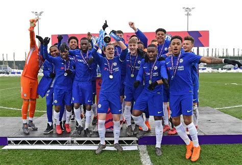 epl u18 table brown inspires u18 pl cup triumph for chelsea