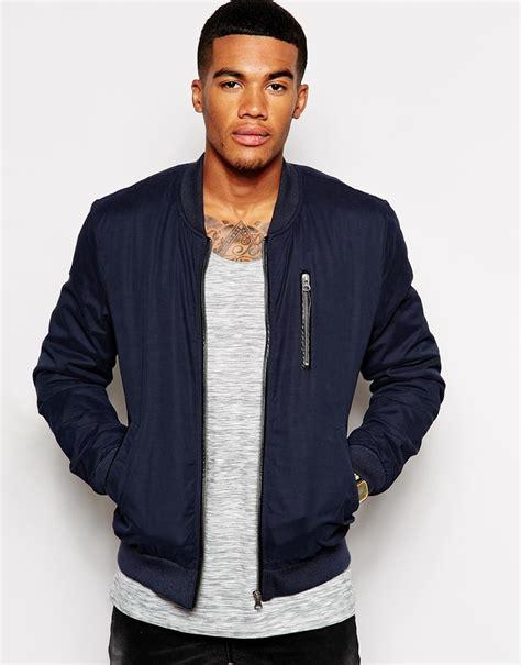 Jaket Bomber Tripple Hizi Navy asos brand bomber jacket where to buy how to wear