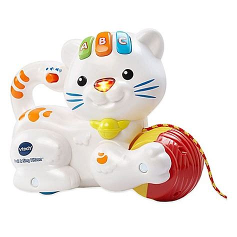 vtech pull and sing puppy buy vtech 174 pull and sing kitten from bed bath beyond