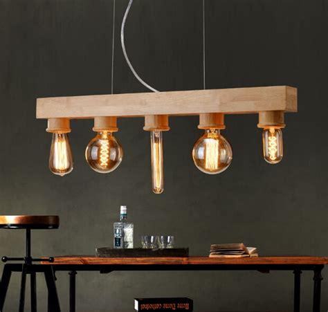 unid pendiente de madera lamparas de decoracion luz
