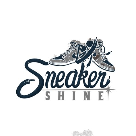 sneaker logo design sneaker cleaning and restoration concierge service looking