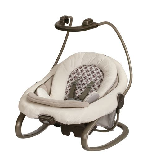 swing and rocker graco duetsoothe swing rocker antiquity