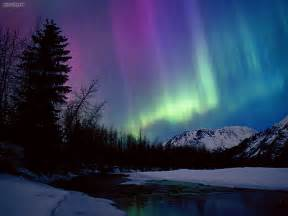 alaska northern lights nature northern lights portage river valley alaska