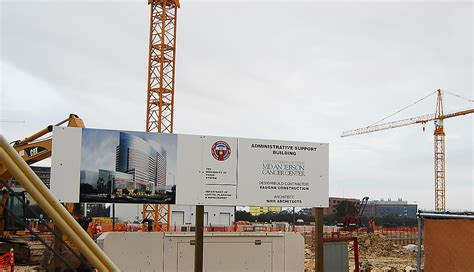 md anderson help md anderson administrative support building going up