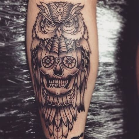 owl and skull tattoo meaning 25 best ideas about owl skull tattoos on owl