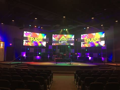 2x4x12 Home Depot Grid Fill Church Stage Design Ideas