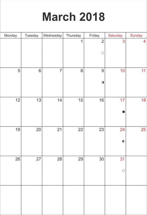 march 2018 calendar fillable calendar template letter march 2018 calendar fillable printable