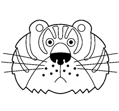 tiger mask coloring page tiger mask printable coloring coloring pages