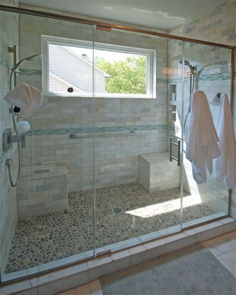 Remodeled Showers by Bathrooms