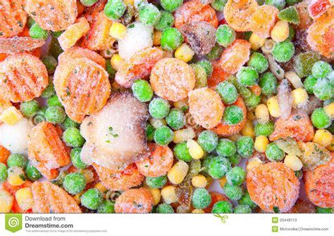 frozen vegetable stock photos image 20448113