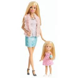 Barbie sisters barbie and chelsea 2 pack doll set