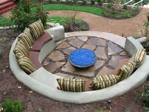 Circular Patio Seating by Semi Circular Shape Seating Area Outdoor Space