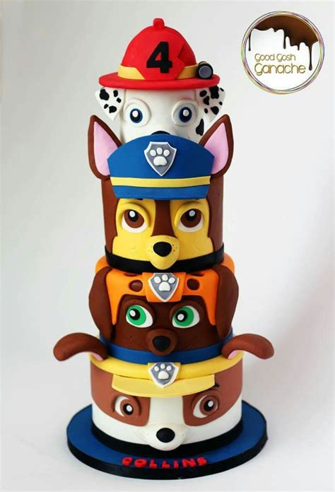 Cake Topper Besar Paw Patrol best 25 paw patrol cake decorations ideas on