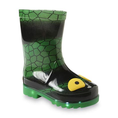 light up boots toddler boy skechers toddler boy s waterspout drip drops green lizard