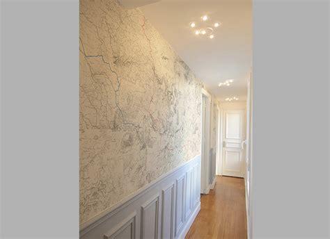 Papier Peint Pour Entree Et Couloir by Papier Peint Entr 233 E Couloir Menuiserie