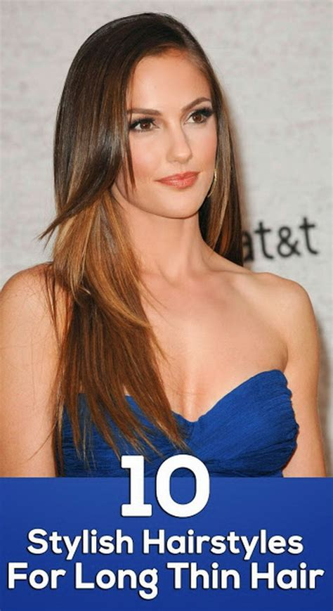 haircuts to give long hair volume 10 hairstyles for long thin hair